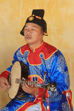 Vietnam traditional music performance event Royalty Free Stock Photography