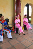 Vietnam traditional music performance event Stock Photography