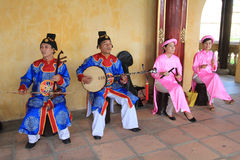 Vietnam traditional music performance event royalty free stock images
