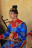 Vietnam traditional music performance event Stock Image