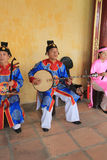 Vietnam traditional music performance event Stock Images