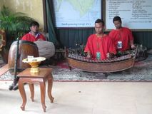 Vietnam traditional music players stock video footage