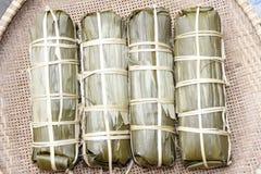 Vietnam traditional rice cake Stock Image