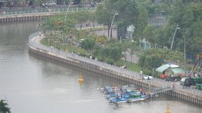 Vietnam traffic stock video footage