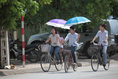 Vietnam Traffic Stock Image
