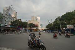 Vietnam trafik Royaltyfria Foton