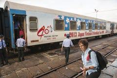 Vietnam train Stock Photography