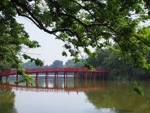Vietnam Travel TheHuc Bridge Stock Images