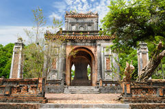 Vietnam - Tu Duc tomb. Vietnam, ancient Tu Duc royal tomb near Hue Royalty Free Stock Photography