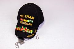 Vietnam Vet Cap, Tags And Ribbons