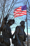 Vietnam-Veterane Erinnerungs Lizenzfreies Stockfoto