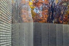 Vietnam-Veteranen-Denkmal-Wand Stockbilder