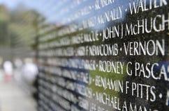 Vietnam Veterans Memorial Stock Photos