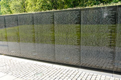 Vietnam Veterans Memorial. Monument Wall Mall DC Royalty Free Stock Image