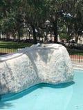 Vietnam Veterans Memorial in Savannah, GA.  royalty free stock photo
