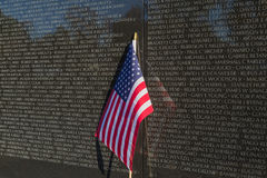 Vietnam Veterans Memorial Wall Royalty Free Stock Image