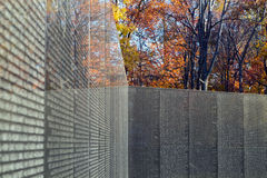 Vietnam Veterans Memorial Wall Stock Images