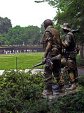 Vietnam Veterans Memorial in Washington D.C. from the distance, 2008 Royalty Free Stock Images