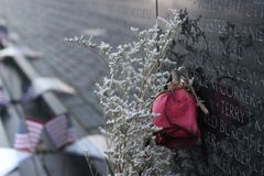 The Vietnam Veterans Memorial. In Washington D.C. during the month of March Stock Photography