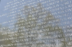 Vietnam Veterans Memorial, Washington DC Royalty Free Stock Images
