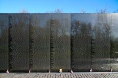 Vietnam Veterans Memorial. Washington DC Mall Royalty Free Stock Photo