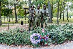 Vietnam Veterans Memorial Washington. Vietnam Veterans Memorial in Washington, DC, United States Royalty Free Stock Photo
