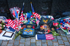 Vietnam Veterans Memorial in Washington DC, USA Stock Photo