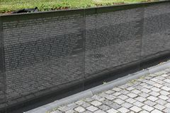 Vietnam Veterans Memorial Royalty Free Stock Image