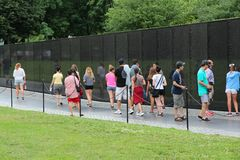 Vietnam Veterans Memorial Royalty Free Stock Images
