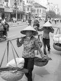 vietnam vietnameskvinnor Fotografering för Bildbyråer