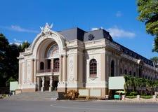 vietnam Ville de Ho Chi Minh Théâtre municipal Photographie stock libre de droits