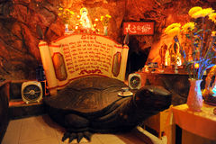 Vietnam, Vung Tau, Park Ho May, Temple Grotto turtle stock photos