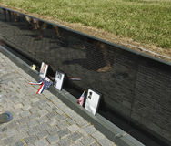 Vietnam Wall Memorial royalty free stock image