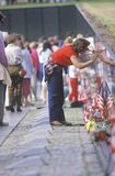 Vietnam Wall Memorial Stock Image