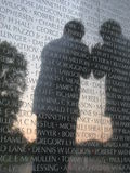 The Vietnam Wall Royalty Free Stock Photography