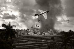 Vietnam War - Artist recreation Stock Image