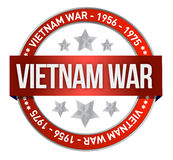 Vietnam war commemoration seal illustration Stock Photo