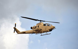 Vietnam War era helicopter Stock Image