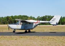 Vietnam War era reconnaisance airplane Stock Photos