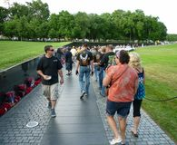 Vietnam War Memorial Stock Photo
