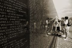 Vietnam War Memorial Royalty Free Stock Photos