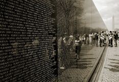 Vietnam War Memorial Stock Photography