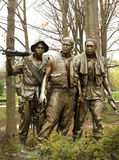 Vietnam War Memorial stock image