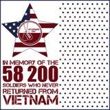 Vietnam war. Remembrance day Stock Photo