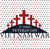 Vietnam war. Remembrance day Stock Image