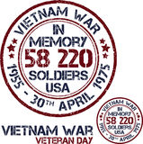 Vietnam war. Remembrance day Royalty Free Stock Images