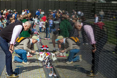 Vietnam War Veterans Memorial Royalty Free Stock Photography