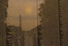 Vietnam War Veterans Memorial Royalty Free Stock Image