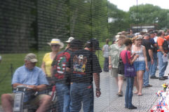 Vietnam war wall Stock Images
