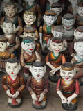 Vietnam water puppets Royalty Free Stock Image